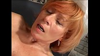 Screenshot Attractive g ranny pleasing her pussy with a new...