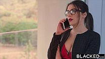 Screenshot BLACKED Vale ntina Nappi takes the biggest bbc i...