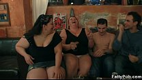 Fat chicks s trip and suck cocks
