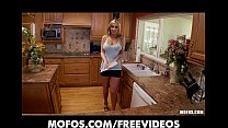 Curvy Busty Blonde Fucks Her Pink Pussy In The ...