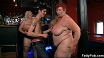Three fattie s join dirty party