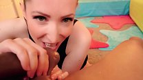 Screenshot Candy May -  SLOPPY BBC BLOWJOB / BALLS EATING