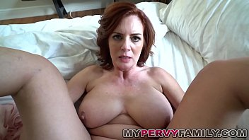 cover video Horny Busty Milf Andy Fucks Her Step Sons Big C