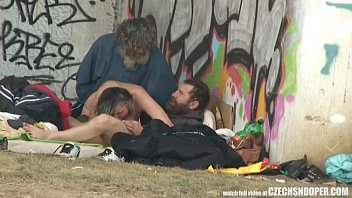cover video Pure Street Life Homeless Threesome Having Sex On Public