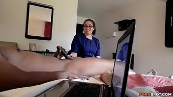 thumb Flashing Dick To Maid And Then She Fuck Him