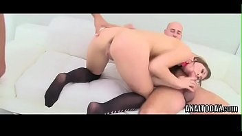 thumb Sexy Susan Ayn Gets Double Anal And Piss Drinking