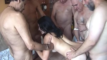 cover video Cute Teen Gets Gang Banged By Old Mature Men