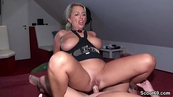 cover video German Amateur Milf Seduce To Fuck By Two Stranger