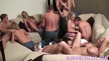 thumb Party Game Leads To A Huge Orgy