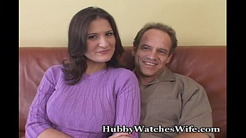 thumb Sissy Hubby Gives Hot Wife To Friend