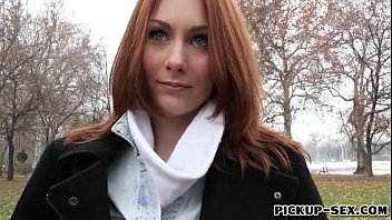 cover video Redhead Czech Girl Alice March Gets Banged For Some Cash