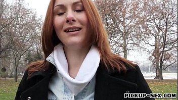 thumb Redhead Czech Girl Alice March Gets Banged For Some Cash