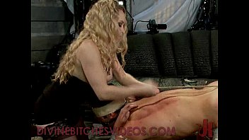 thumb Busty Blonde Hard Canes And Fucks Guy With Stra