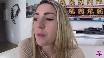 thumb Messy Facial Tall Blonde Gets Fucked And Spunked