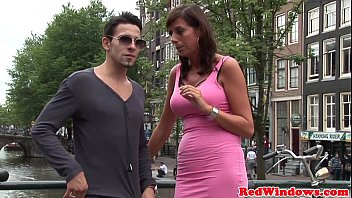 cover video Real Amsterdam Prostitutes In Threeway
