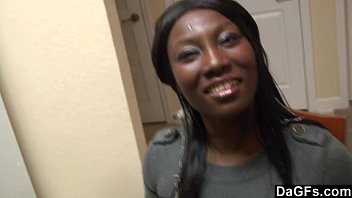 thumb Ebony With Booty Ass Gets Fucked While She Does Dishes