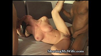 cover video Hubby Shares Hot Wife With Black Guys