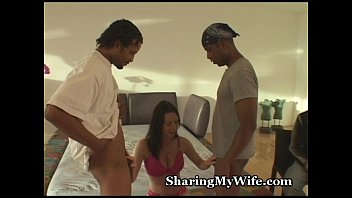 thumb Hubby Shares Hot Wife With Black Guys