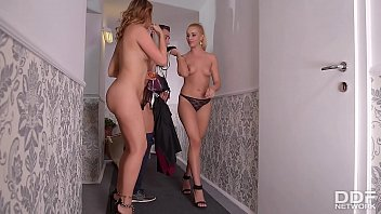 cover video After Party Blowjob Threesome With Cherry Kiss
