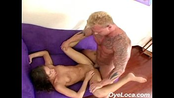 thumb Slender Latina Gets Rammed Hard By A Muscled Guy