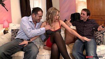 thumb Two Rich Buddies Double Penetrate A Hooker Called Colette
