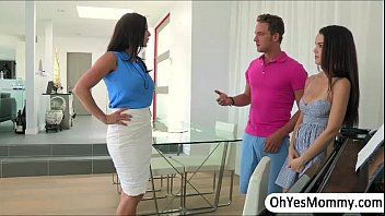 thumb Milf Kendra Lust Grabs A Gentlemans Cock And Engages In Threesome