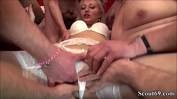 thumb German Teen Helena In Extrem Fuck And Squirt Gangbang Part 1