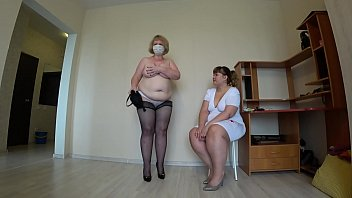 thumb Milf Came To Th E Reception To The Nurse And G The Nurse And Got An Orgasm From Fisting A Bbw Doggystyle Shakes Beautiful Booty Lesbians Pov
