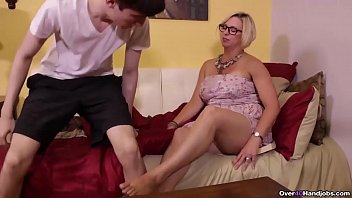 thumb Ov40 Sexy Milf Jerking Off A Younger Man