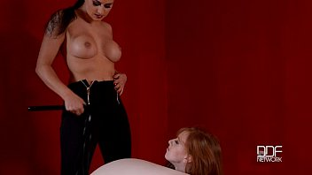 thumb Red Head Submissive Cuffed And Controlled By Se