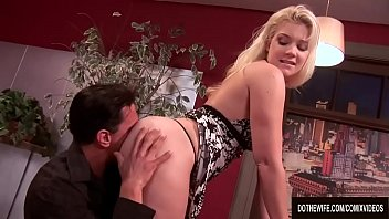 thumb Blonde Wife Heidi Mayne Takes It Up The Ass While Her Cuck Watches