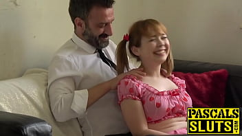 thumb Redhead Teen Cherry English Face Fucked Before Anal
