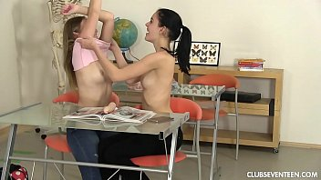 thumb Kinky Students Toying Their Pussies