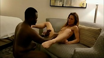 Tall skinny wife pounded to creampie interracial-276