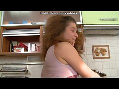thumb porn doll kitchen sex video scene 1