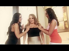 thumb maggie s angels three busty babes in threesome