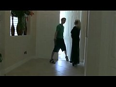 thumb seducing the  paperboy for my cuckold husband