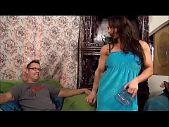thumb eroticmusclevideos   muscular girl shares a cup of hard sugar and blue balls
