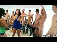 thumb audition party with rebeca linares diamond kitty and abella anderson