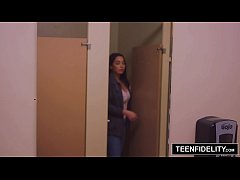 thumb teenfidelity karlee grey squirts all over james deen s big dick