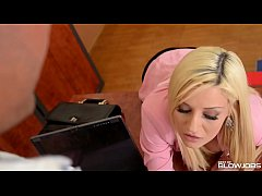 thumb secretary sienna day intense deepthroat and face fuck session