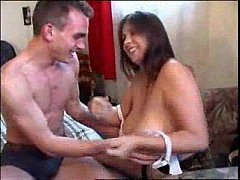 thumb russian brun ette with big tits fucked in bed