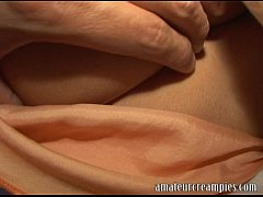 thumb hot european woman gets her pussy filled up with cum