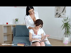 thumb kyra queen and veronica moore in lesbian scene by sapphic erotica