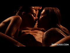 thumb most passion ate threesome at sinfulxxx com