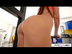thumb jessica jaymes sucking a big dick in pov big booty