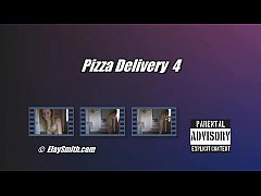 thumb completely nude pizza delivery toy up ass