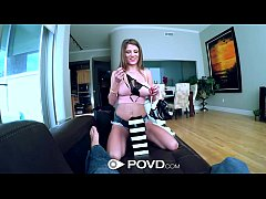 thumb hd povd   dillion carter with nice tits gets fucked in pov