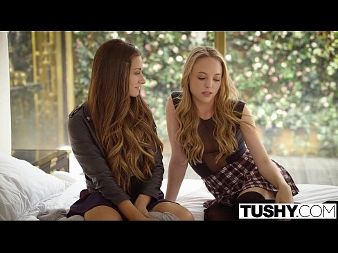 cover video tushy babes cassidy klein and aubrey star do anal