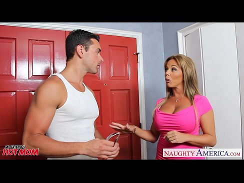 cover video busty blonde mom amber lynn bach fucking a large dick